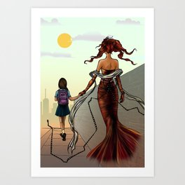 Dreams1-15 Art Print