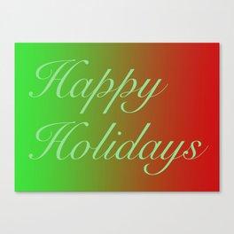 Holiday SZN Canvas Print