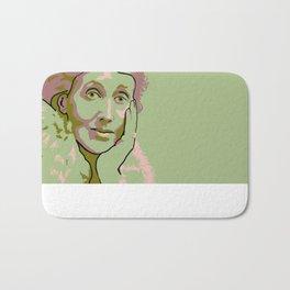 Virginia Woolf Bath Mat