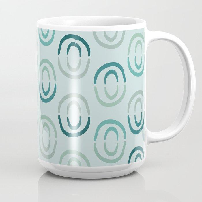 Sea Circles Coffee Mug