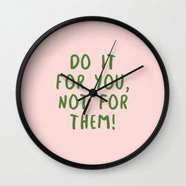 Do it! Wall Clock