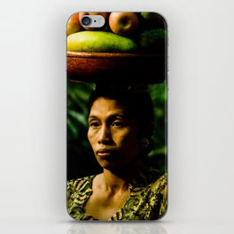 Balinese Woman iPhone Skin