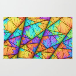 Colorful Slices Rug