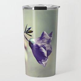 Purple Flower III Travel Mug