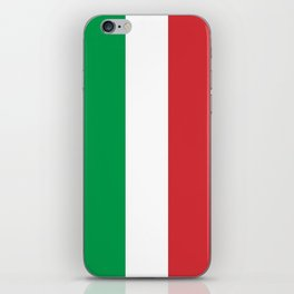 National Flag of Italy, High Quality Image iPhone Skin