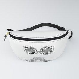 Crazy moustache guy Fanny Pack