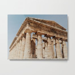 Hera temple Metal Print