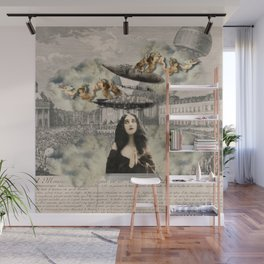 aNGeLs aNd ZePPeLiNs Wall Mural