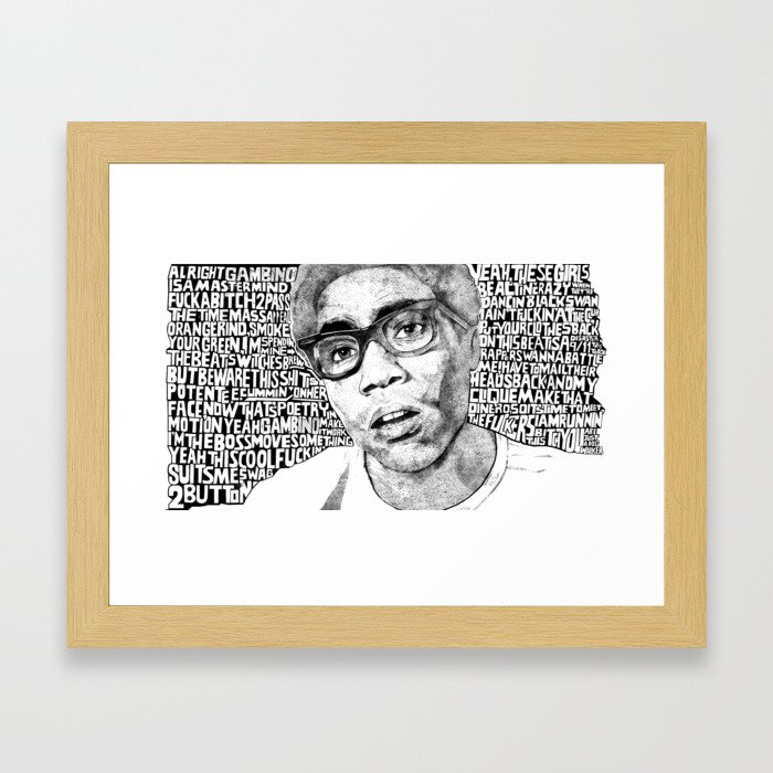 Gambino Framed Art Print