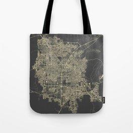 Las Vegas Map #1 Tote Bag