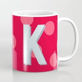 K is for Kindness Coffee Mug