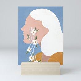 Fierce tears Mini Art Print
