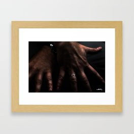 Hands #8 Framed Art Print