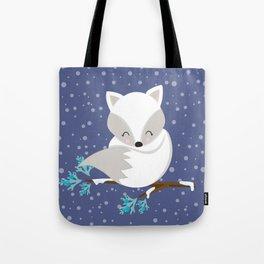 WINTERLAND FOX 2 Tote Bag
