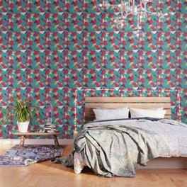 Pills Pattern 014 Wallpaper