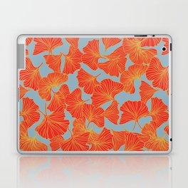 Tumbling Ginkgo Red Laptop & iPad Skin
