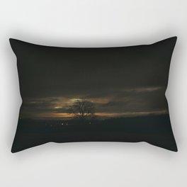 blank mind Rectangular Pillow