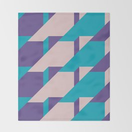 Abstract Glow #society6 #glow #pattern Throw Blanket