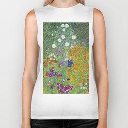 Flower Garden - Gustav Klimt Biker Tank