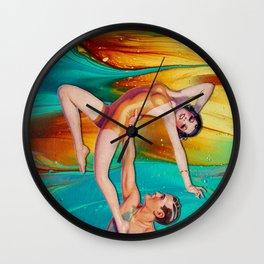 MARBLING SHOW Wall Clock