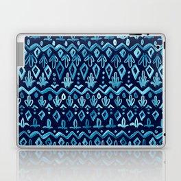Mya Watercolor - Blue Laptop & iPad Skin