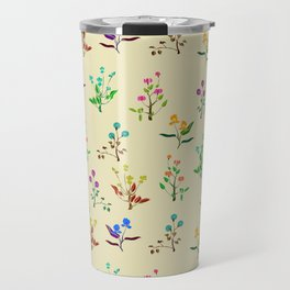 floral army Travel Mug