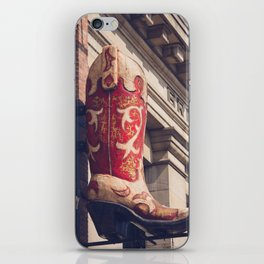 Broadway Boots - Nashville iPhone Skin