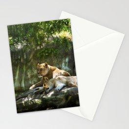 Portland Lioness Stationery Cards