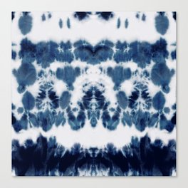 Shibori Not Sorry Canvas Print