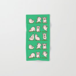 Pig Yoga Hand & Bath Towel