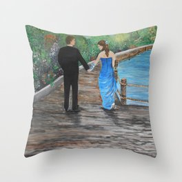 In Love with You Throw Pillow
