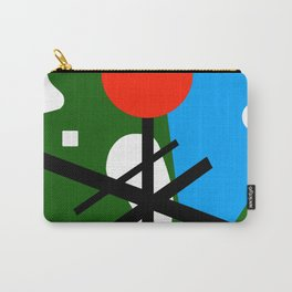 Abstract Geometric Carry-All Pouch
