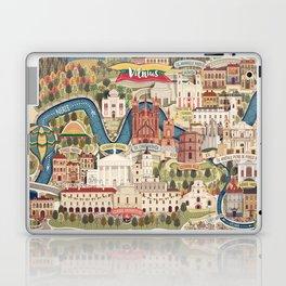 Vilnius, the capital city of Lithuania Laptop & iPad Skin
