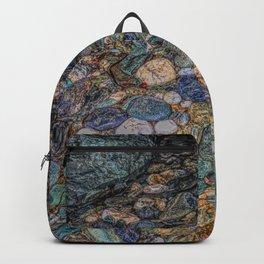 Merlin's cave pebbles Backpack