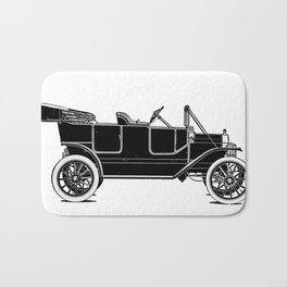 Old car Bath Mat
