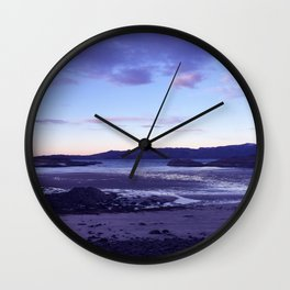 Sunset at  Loch Eil Wall Clock
