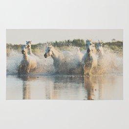 runaway horses ... Rug