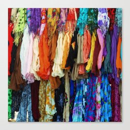 Gypsy Rags and Ruffles Canvas Print