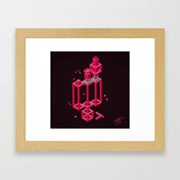 Hexworld Framed Art Print