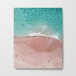 Pink Vacation Metal Print