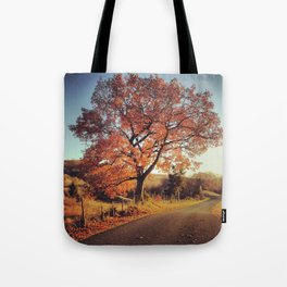 White Oak Road - Fall Tote Bag