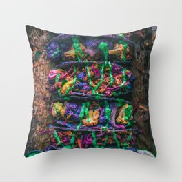 Purple Cauliflower Tacos Throw Pillow
