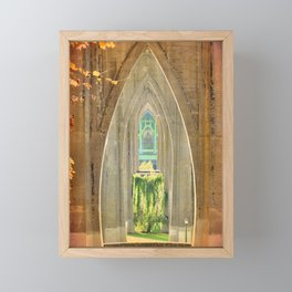 CATHEDRAL PARK ARCHES - ST. JOHNS Framed Mini Art Print