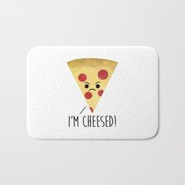 I'm Cheesed! Pizza Bath Mat