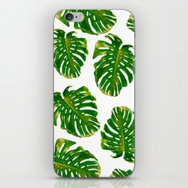 Guatemala - Monstera Deliciosa Jungle iPhone Skin