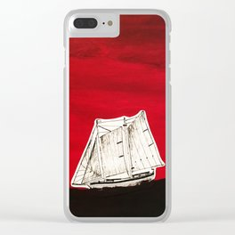 Hell or High Water Clear iPhone Case