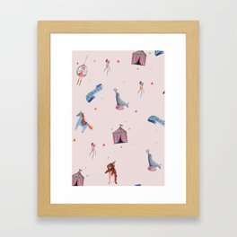 circus Framed Art Print