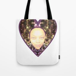 Tyra in Space Tote Bag