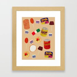 Dulces Mexicanos Framed Art Print
