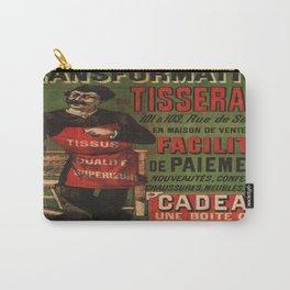 Vintage poster - Tranformation Du Tisserand Carry-All Pouch